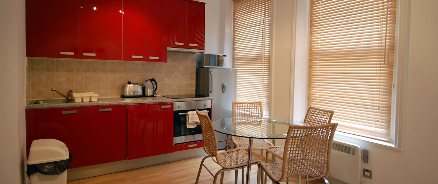 Fully Fitted Kitchens for Self Catering