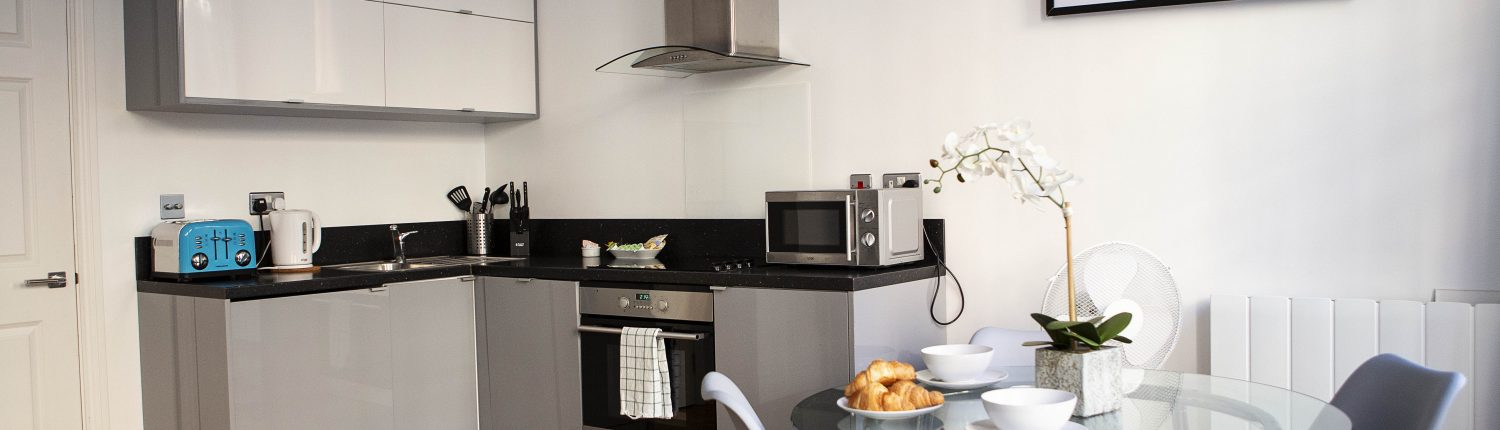 Opera House Serviced Apartments, Apartment 1A, Covent Garden - Kitchen