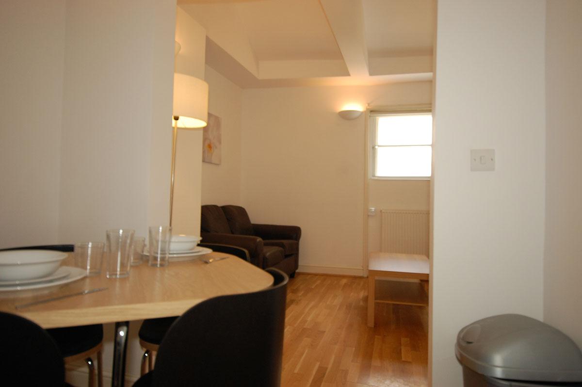 Royal Ballet Apartments, Apartment 2, Covent Garden - Living Area
