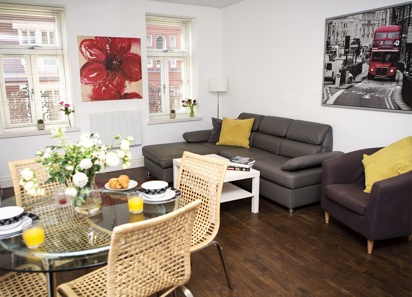 Trafalgar Square Apartments, Apartment 2, Covent Garden - Dining Area