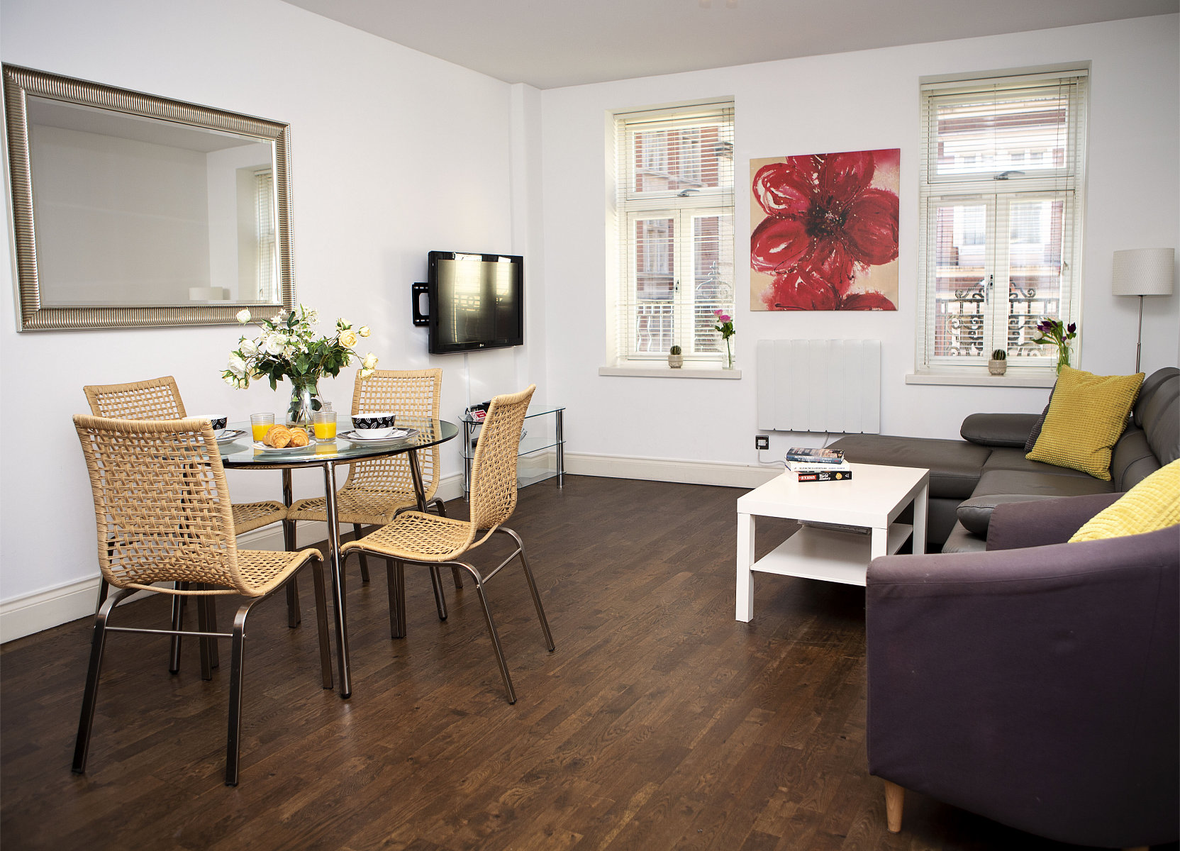 Trafalgar Square Apartments, Apartment 2, Covent Garden - Living Area