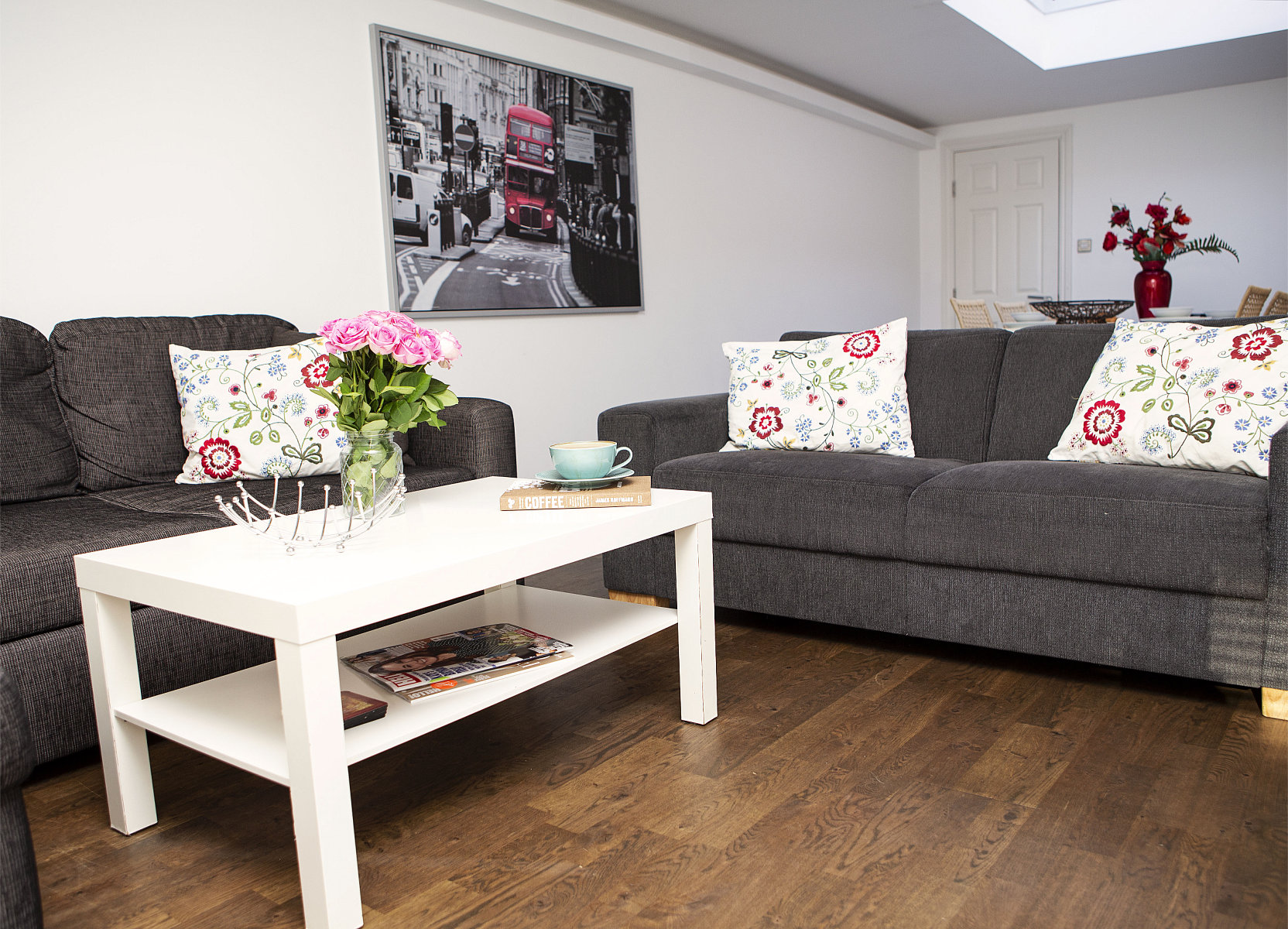 Trafalgar Square Apartments, Apartment 3, Covent Garden - Living Area