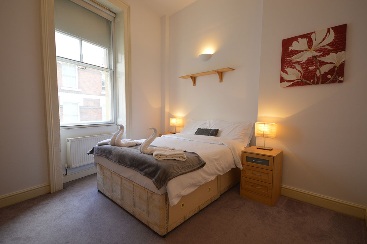 Royal Ballet Serviced Apartments, Apartment 1, Covent Garden - Bedroom