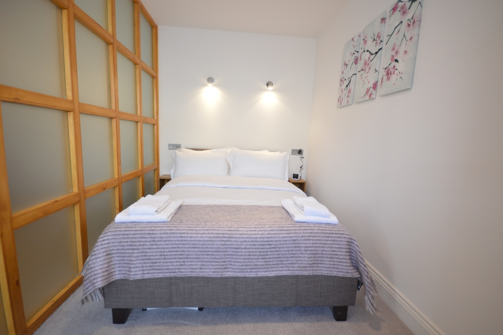 Soho Serviced Studio Apartment, Studio 3A - Bedroom