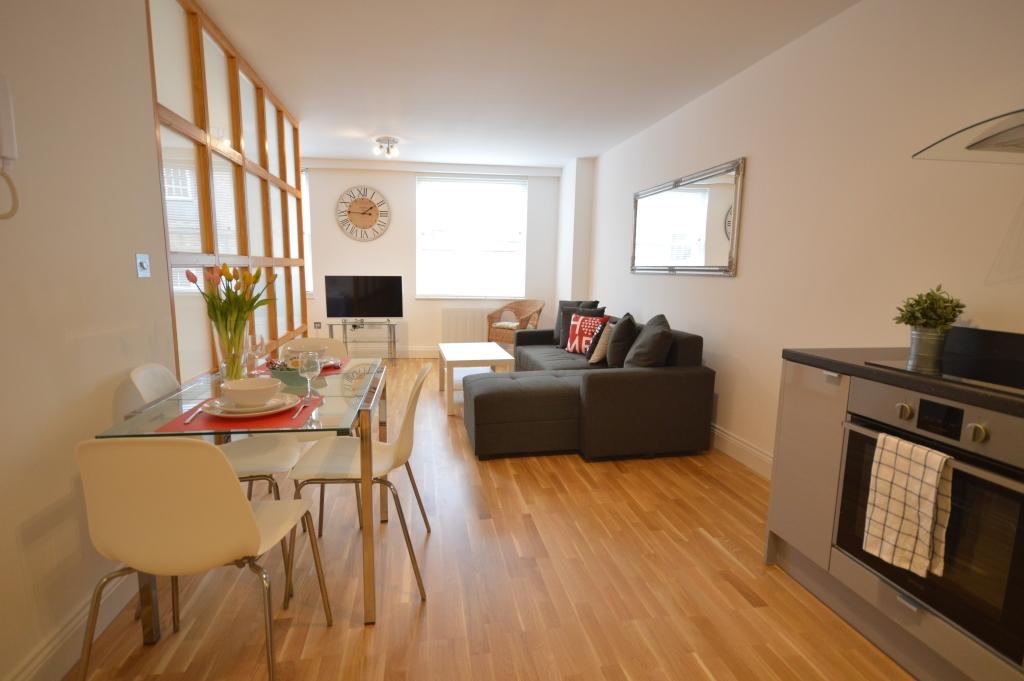 Soho Serviced Studio Apartment, Studio 3A - Living Area