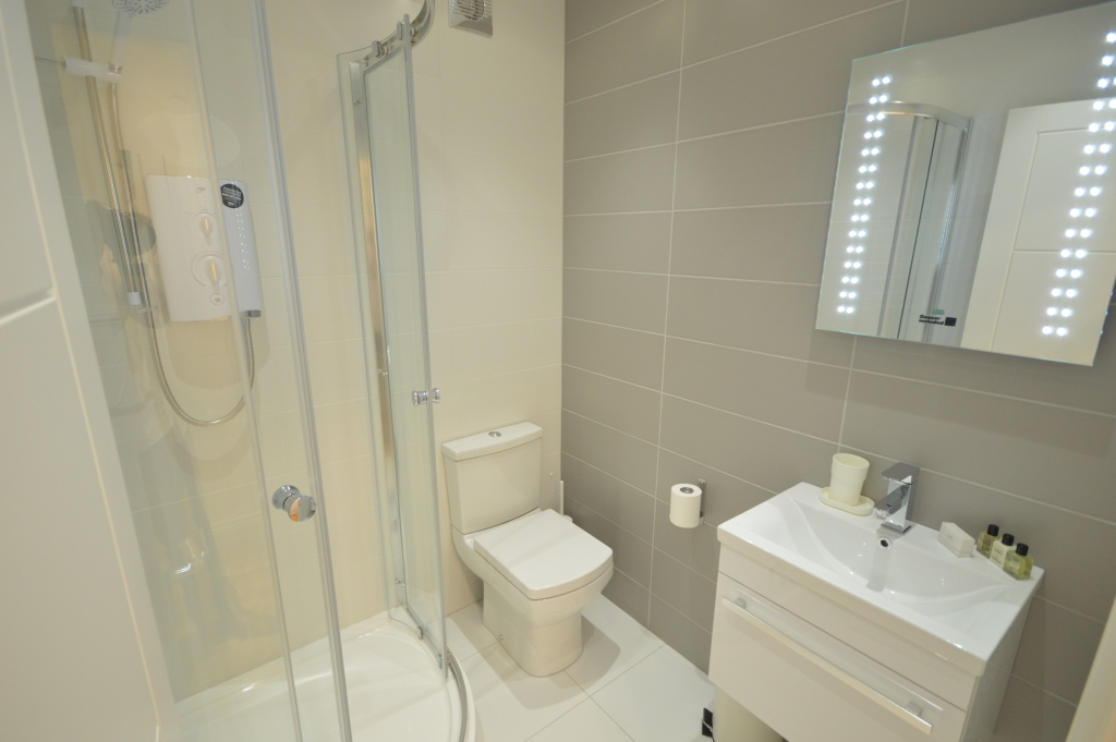Soho Serviced Studio Apartment, Studio 3A - Washroom