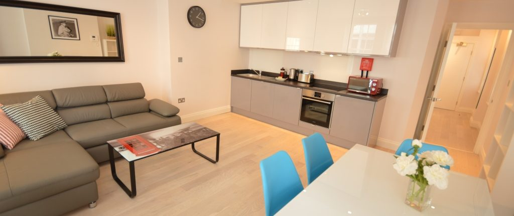 Soho Court, Apartment E, West End - Kitchen