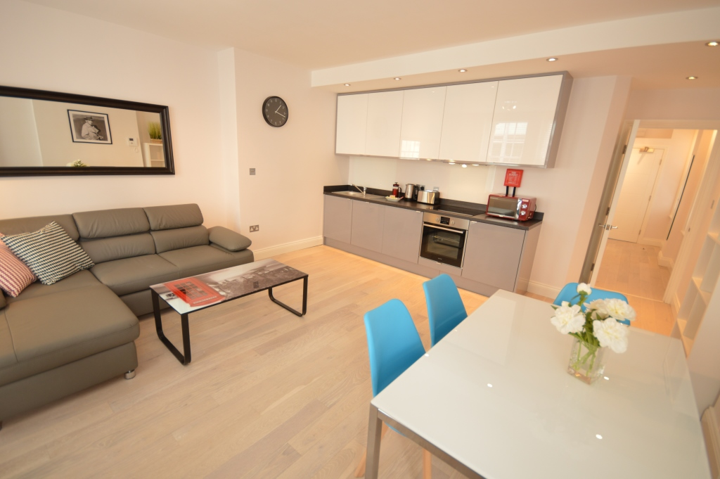 Soho Court, Apartment E, West End - Kitchen