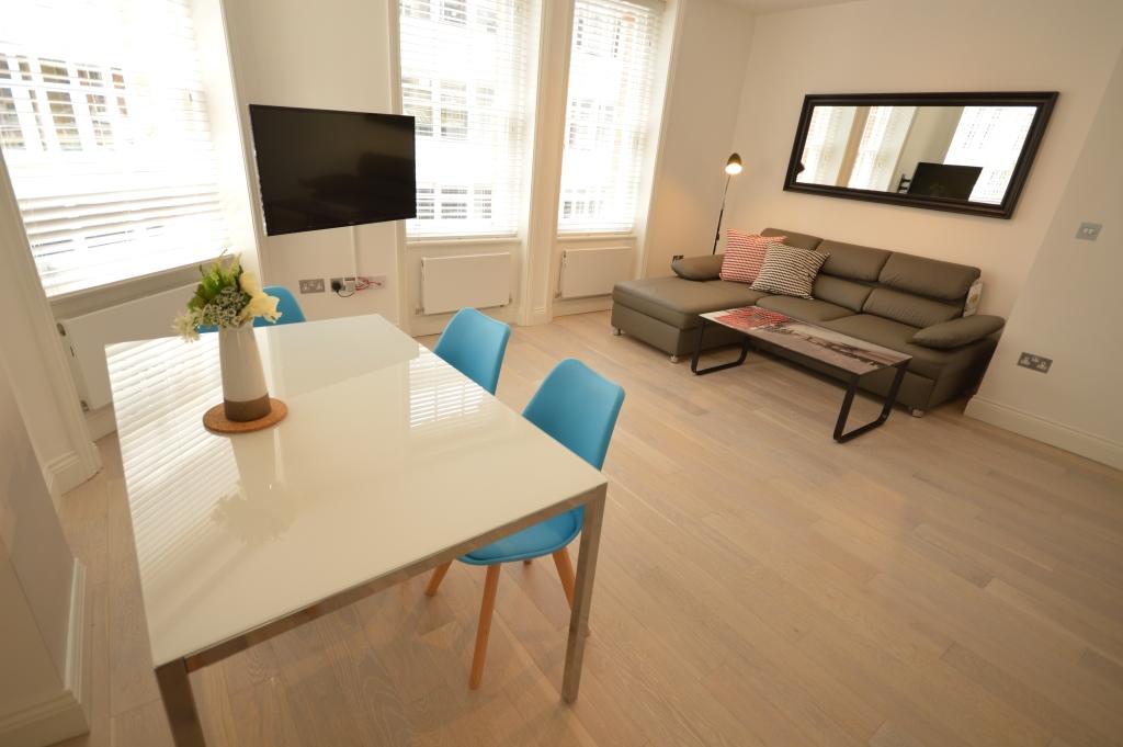 Soho Court, Apartment G, West End - Living Area