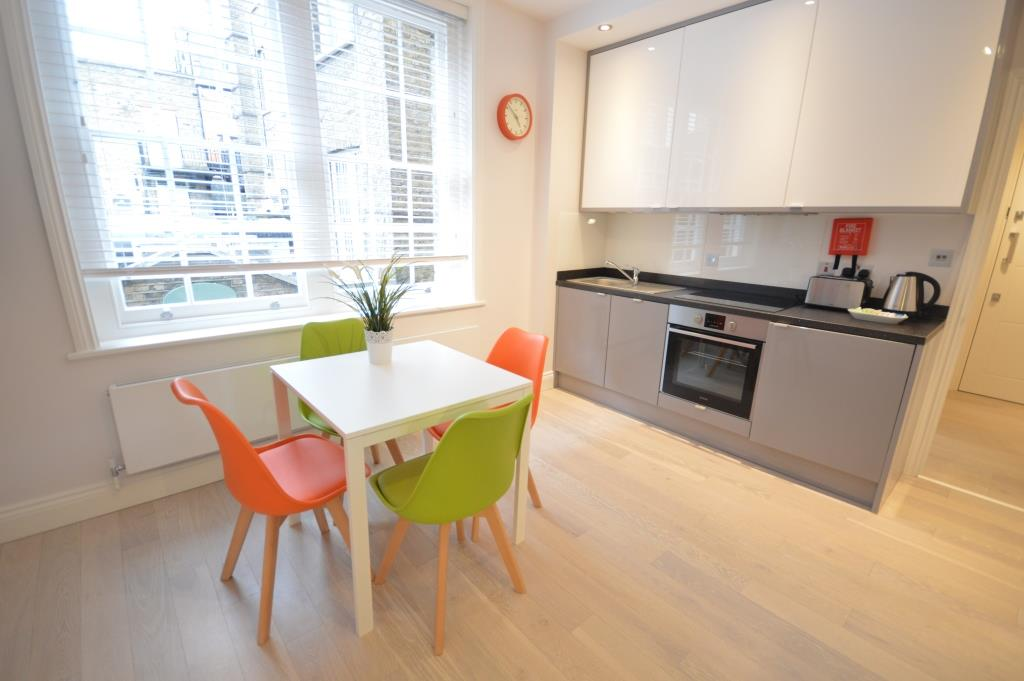 Soho Court, Serviced Apartment A, West End - Kitchen