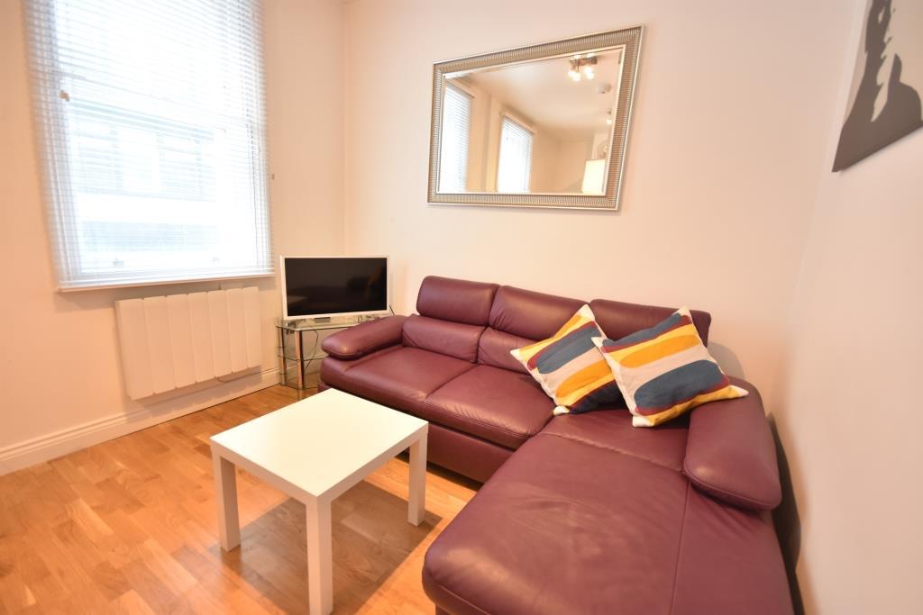 Soho Apartments (130 Wardour Street) - Apartment 3 Living Area
