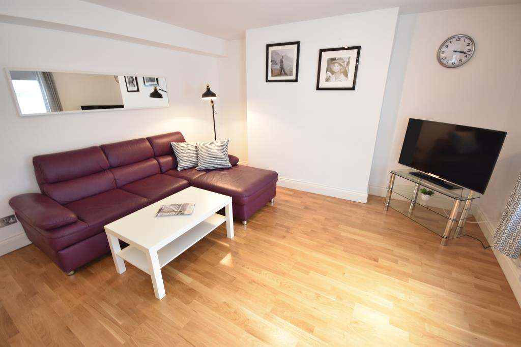 Soho Apartments (130 Wardour Street) - Apartment 3 Living Area