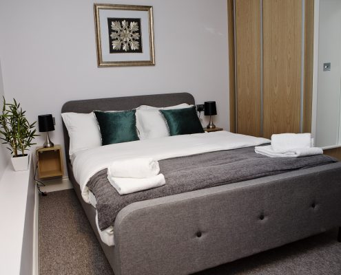 Soho Chambers Serviced Apartment A - Bedroom