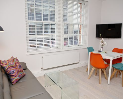 Soho Chambers Serviced Apartment A - Living Area