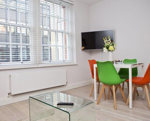 Soho Chambers Apartment C - Living Area