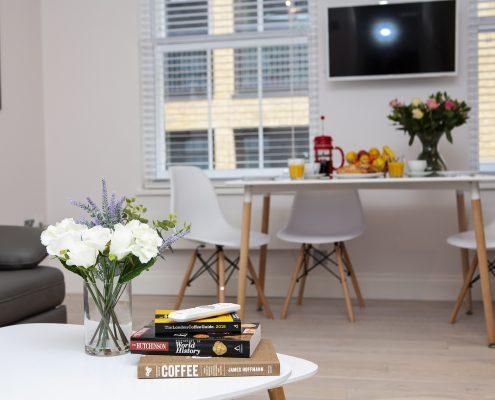 Soho Suites Flat 2 - Living Area
