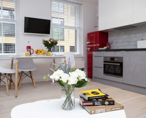 Soho Suites Flat 2 - Kitchen