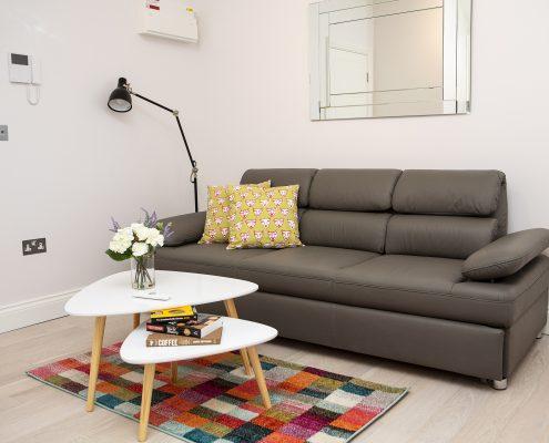 Soho Suites Flat 3 - Living Area