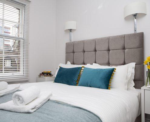 Soho Suites Flat 3 - Bedroom