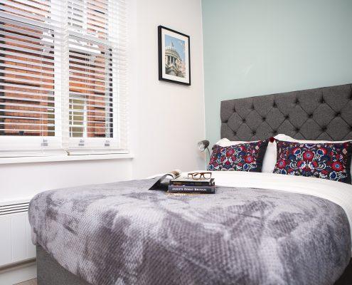 Carnaby Studio 1 Bedroom area