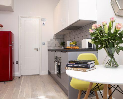 Carnaby Studio 1 Kitchen Area