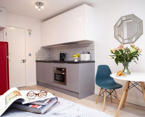 Carnaby Studio Apartment 2 - Kitchen Area